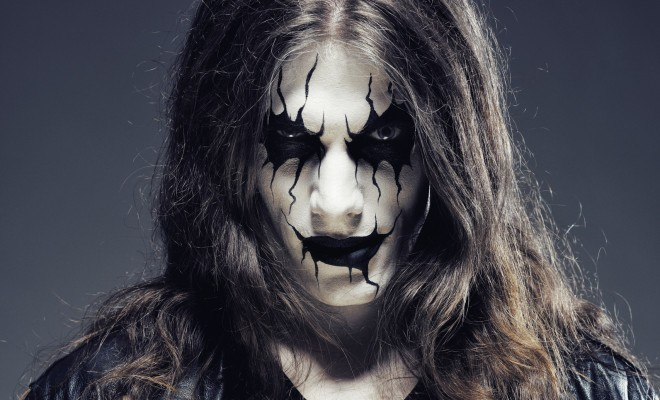 The black metal corpse halloween makeup tutorial
