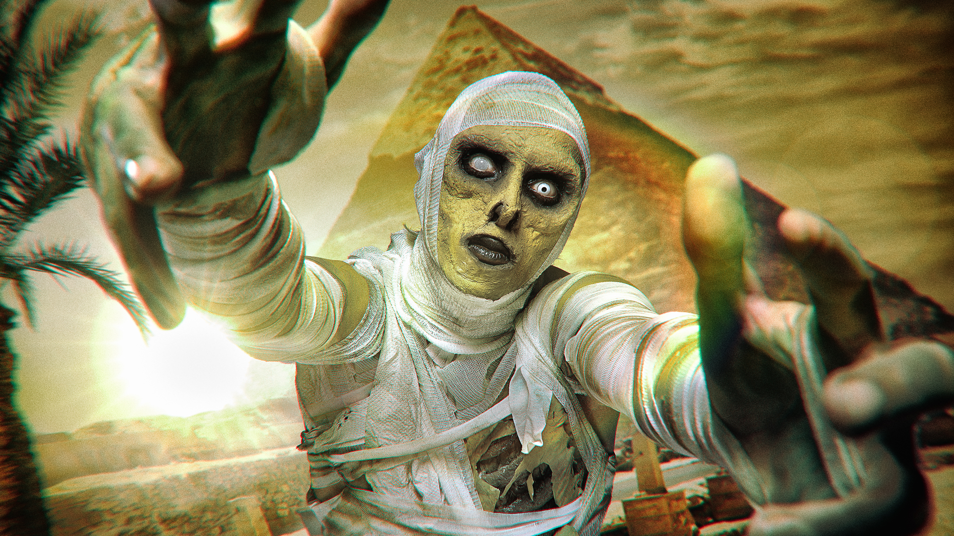 the mummy halloween makeup tutorial by ellimacs