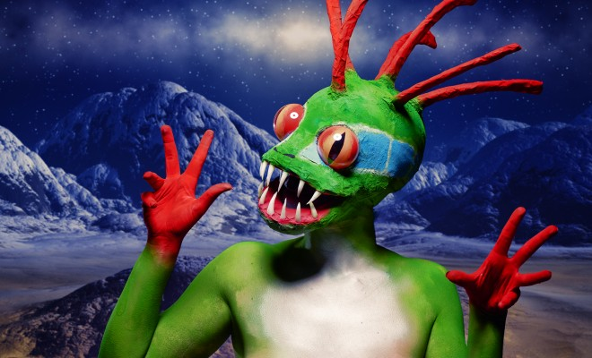World of Warcraft Murloc halloween makeup tutorial