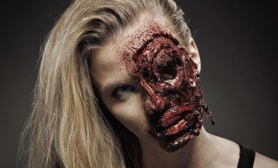 Car crash face (or zombie) fx makeup tutorial