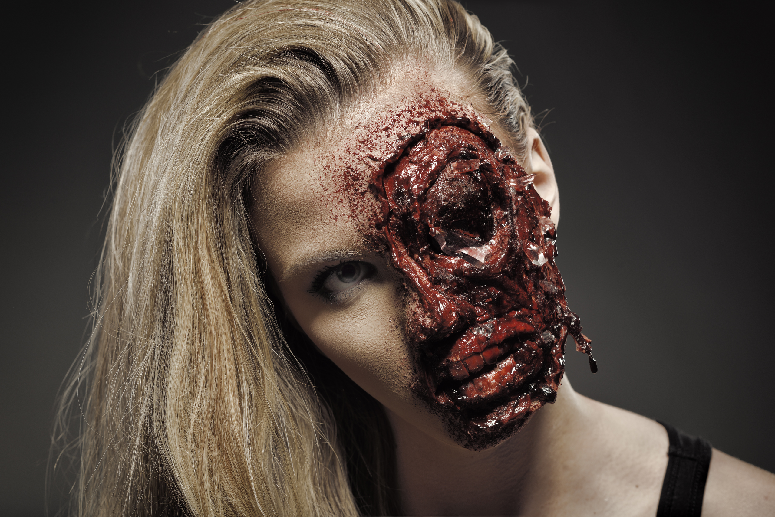 Car Crash Face Or Zombie Halloween Tutorial By Ellimacs