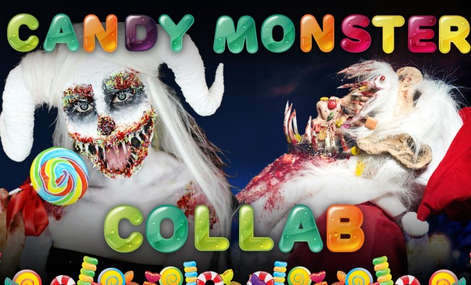 Candy monster collab with Bonnie Corban