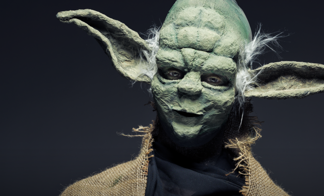 Star Wars Yoda Special fx makeup tutorial by Ellimacs