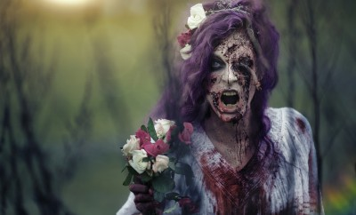 Zombie bride by Ellimacs