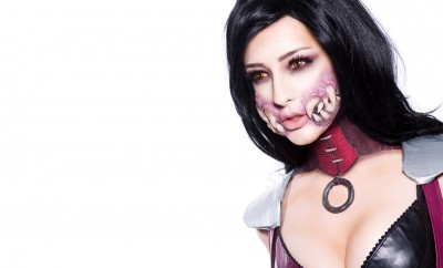 Ellimacs SFX Mileena Makeup Tutorial