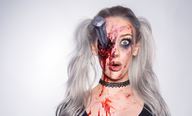 Ellimacs SFX Nailed It Special FX Makeup Tutorial