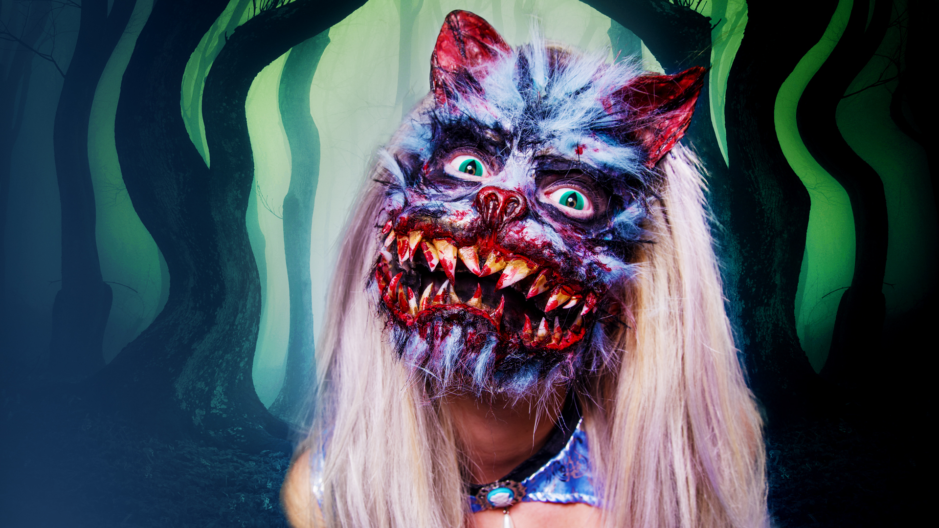 The Other Mother Halloween Makeup Tutorial - Cheshire-cat-makeup-tutorial-you