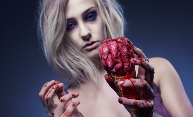 How-to: iZombie fake brain halloween tutorial