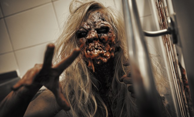 Epic Zombie special fx makeup tutorial (latex free)