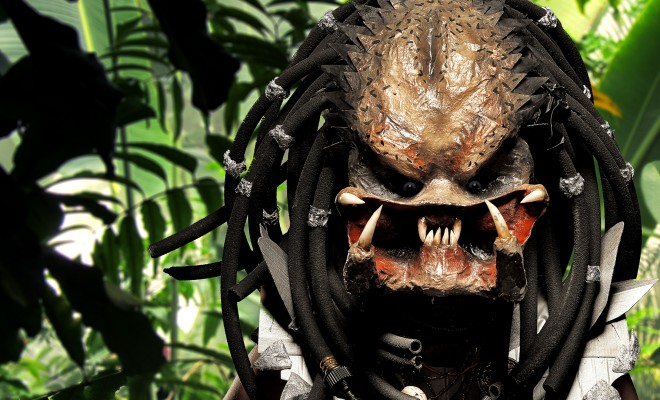 Predator halloween mask tutorial