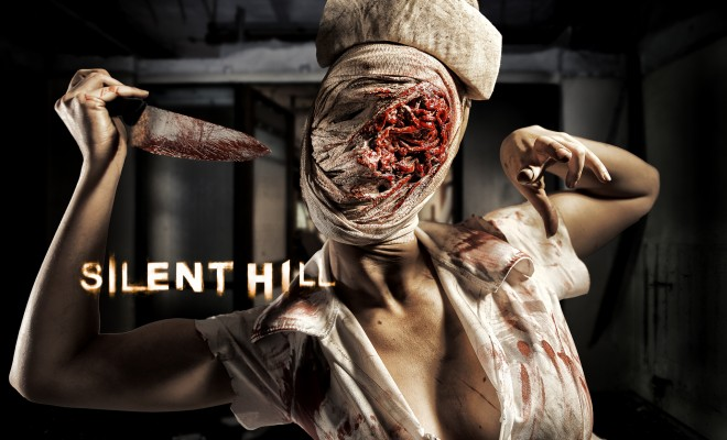Silent Hill nurse halloween makeup tutorial
