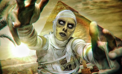 The mummy halloween makeup tutorial