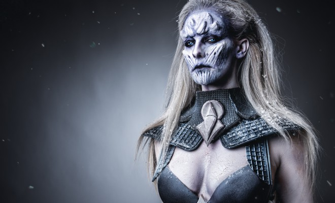 Ellimacs SFX White Walker Special FX Makeup + Coslplay Tutorial